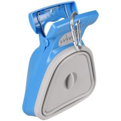 FL-520820 Flamingo Pet Products Recogedor de cacas plegable. tamaño L. color azul . para perro Recogida de residuos