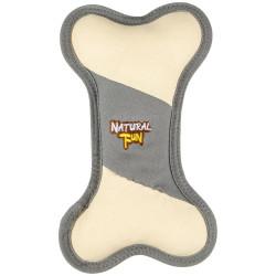 Speeltje in de vorm van een bot. Natuurlijk plezier. afmeting 15 x 25 cm. dikte 5 cm. voor hond. Flamingo Pet Products FL-520...