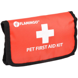Flamingo Pet Products First aid kit. size 18 x 12 x 4 cm. for pets. Care and hygiene