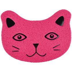 FL-561146 Flamingo Pet Products Alfombra Pancho fucsia. 30 x 40 cm. para caja de arena. para gatos. accesorio de cama