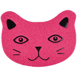 Flamingo Pet Products Pancho fuchsia mat. 30 x 40 cm. for litter box . for cats. litter accessory