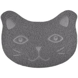 Flamingo Pet Products Grey Zelda mat. 30 x 40 cm. for litter box . for cats. litter accessory