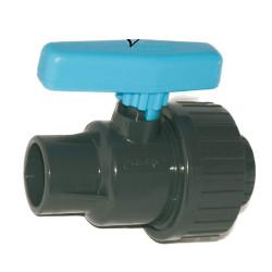 Plimat Plimex Einzelverschraubung Plimex Ventil-Durchmesser 40 mm SO-VSU40 Schwimmbadventil
