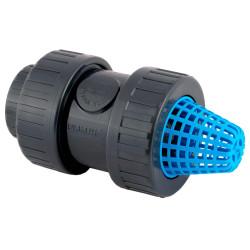 Jardiboutique ø 32 - 1 pollice, filtro con valvola di non ritorno in PVC SO-CARC32 valvola di filtraggio
