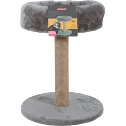 zolux Cat tree 2 in 1. ø 35 cm x height 45 cm. colour grey. for cats and kittens. Arbre a chat, griffoir