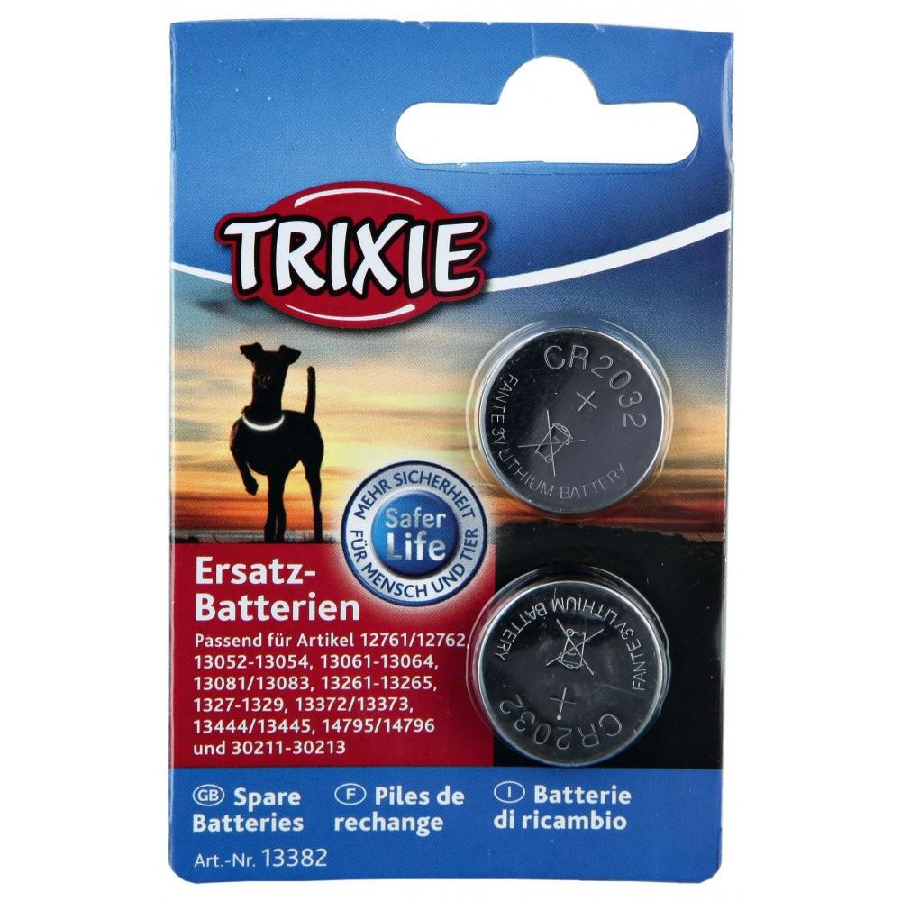 Piles CR 2032 de rechange, 2 pièces Animaux Trixie TR-13382
