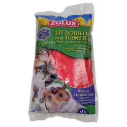 zolux Cozy bed for hamster. 25 gr. bag. random color. Beds, hammocks, nesters
