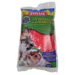 zolux Gemütliches Bett für Hamster. 25 gr. Beutel. zufällige Farbe. ZO-206401 Betten, Hängematten, Nester