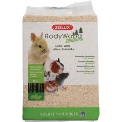 zolux Litter rodywood nature 60 liters. for rodents. weight 2.658 kg. Hay, litter, shavings