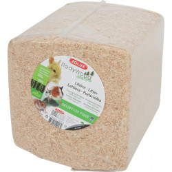 zolux Litter rodywood nature 165 litres. for rodents. weight 10,12 kg. Hay, litter, shavings