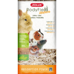 zolux Rodyfield natural litter, 25 Liters, for rodents. 1.070 kg. Hay, litter, shavings