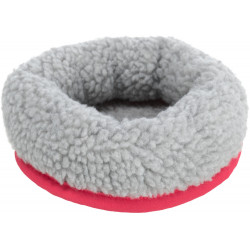Trixie Cosy bed. Dimensions: ø13 cm x 4.5 cm e.g.: mice, hamsters Colour: Random Beds, hammocks, nesters