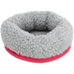 Trixie Gemütliches Bett. Abmessungen: ø13 cm x 4,5 cm z. B.: Mäuse, Hamster Farbe: Zufällig TR-62701 Betten, Hängematten, Nester