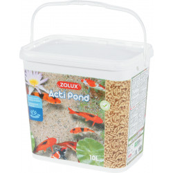 zolux Acti Pond 10 litre complete fish food. Food and drink