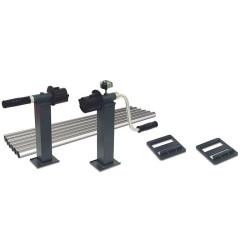 Enrouleur en Aluminium pour Piscines Hors-Sol. jusqu'à 5.5 m Enrouleur et bache  kokido sc-kok-700-0149