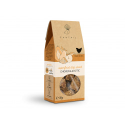 FANTAIL Grain-free and gluten-free chicken and fruit treat 70 g for dogs Nourriture