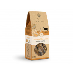 FANTAIL Cereal and gluten free beef and fruit treat 70 g for dogs Nourriture