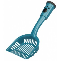 Litter shovel with droppings bags M 38 cm - random color. Litter accessory Trixie TR-40477