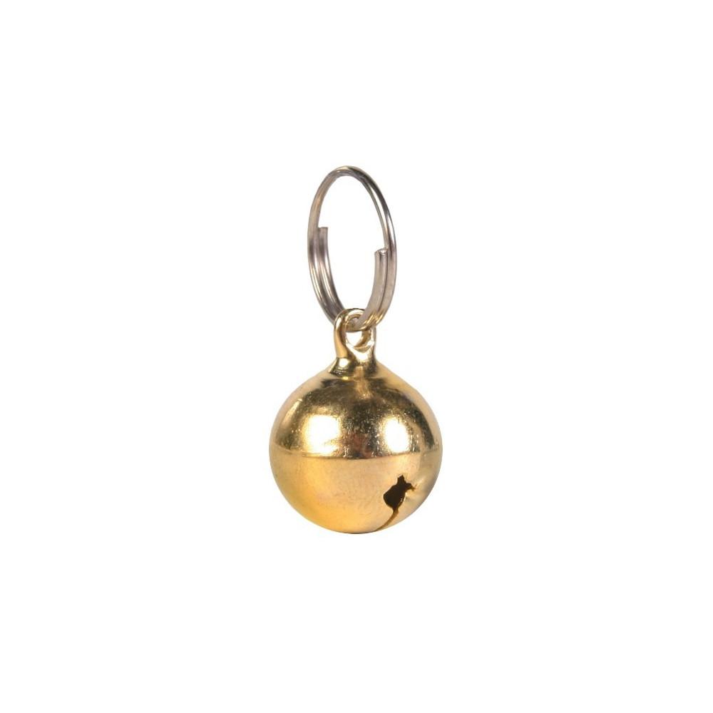 TR-4160 Trixie una campana de cuello de gato, de color aleatorio. collier laisse cage