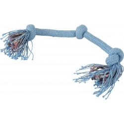 zolux Cosmic 3 knots rope. size ø 2 cm x 45 cm. dog toy. Jeux cordes pour chien