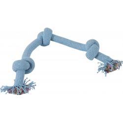 zolux Cosmic 3 knots rope. size ø 3 cm x 50 cm. dog toy. Jeux cordes pour chien