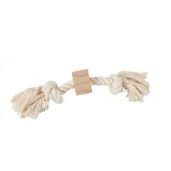 zolux Wild rope 2 knots. size ø 2 cm x 37 cm. dog toy. Jeux cordes pour chien
