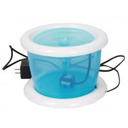 Vadigran Fontaine a eau 3 Litres. bleu transparent. pour chat ou chien. Fontaine