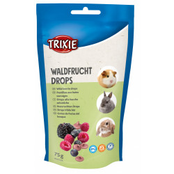 Trixie Wild berry pastilles for rodents. Weight 75g. Friandise