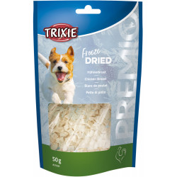 Trixie Chicken Breast Sweets. PREMIO Freeze Dried . Weight 50g. For dogs. Nourriture