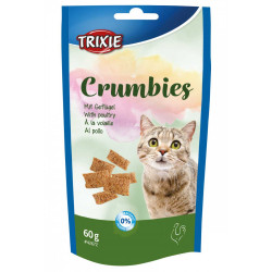 Trixie Crumbie with poultry and taurine. Weight 60g. For cats Nourriture