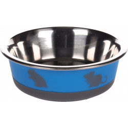 Flamingo Pet Products Nelly bowl. size ø14 cm, 400 ml. color blue. for rodents. Bowls, distributors