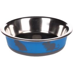 Flamingo Pet Products Nelly bowl. size ø12.3 cm, 225 ml. color blue. for rodents. Bowls, distributors