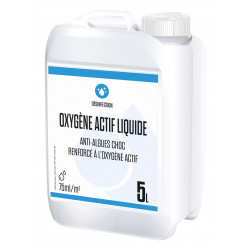 Gamme Blanche Liquid active oxygen 5 litres - version 2021 Treatment product