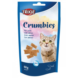 Trixie Crumbies with salmon and taurine. Weight 60g. For cats Nourriture