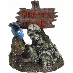Flamingo FL-410146 Pirate aquarium decoration 11 x 9 x 12 cm Decoration and other