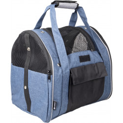 Flamingo Pet Products Lenie Rucksack blau. Größe 36 x 32 x 32 cm. für Hund. max 7 kg. FL-520809 transporttaschen
