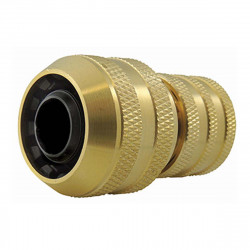 CODITAL Brass watering fittings: 3-ball quick connector for ø 19 mm hose watering