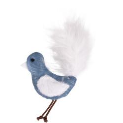 Flamingo Pet Products Jouet oiseau Medy bleu. taille 10 x 17 cm. pour chat. Games