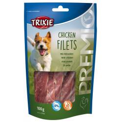 TR-31532 Trixie un sachet friandise chien a la poitrine de poulet 100 g Nourriture