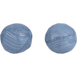 Flamingo Pet Products Jouet 2 Balles Medy bleu. taille ø 5 cm. pour chat. Jeux