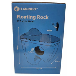 Flamingo Pet Products Floating rock Krag M. size 17.5 x 11 x 18 cm. aquarium decoration. Decoration and other