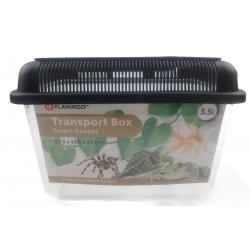 FL-410002 Flamingo Pet Products Caja de transporte Goldie de 3,5 litros para reptiles, peces y tortugas. Accesorio