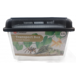 Flamingo Pet Products Goldie 3.5 litre transport box for reptiles, fish and turtles. Accessory