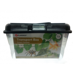 Flamingo Pet Products Goldie transport box 7,5 liters. for reptiles, fish, turtle. Accessory
