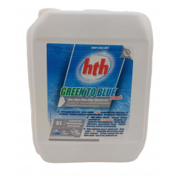 HTH HTH Green to blue, shock, 5 litres. 2021 range Treatment product