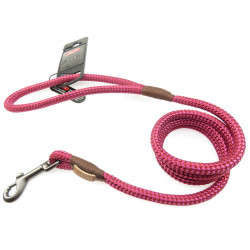 zolux IMAO Hyde park lead. ø 9 mm x 1,2 meter. Fuchsia . for dogs. dog leash