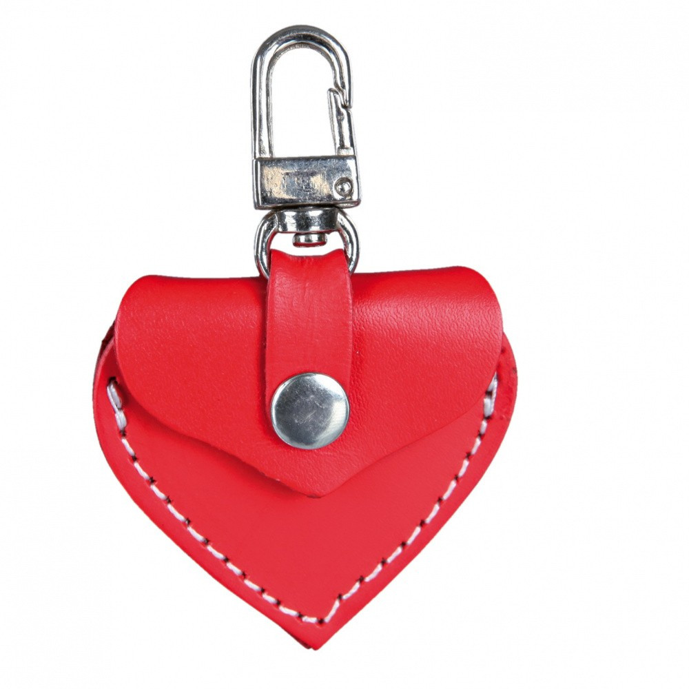 Porte adresse I.D rouge pour chien Porte adresse  Trixie TR-19723