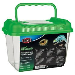 Trixie Boîte transport et d'élevage 19 x 14 x 12 cm. pour reptile. couleur aléatoire. TR-76300 Transport