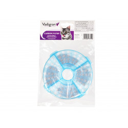 Vadigran 2 Filtres de remplacement pour la Fontaine a eau 3 Litres VA-13758. pour chat ou chien. Fontaine