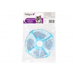 2 Filtry wymienne do fontanny 3 litry VA-13758. dla kotów lub psów. VA-13759 Vadigran